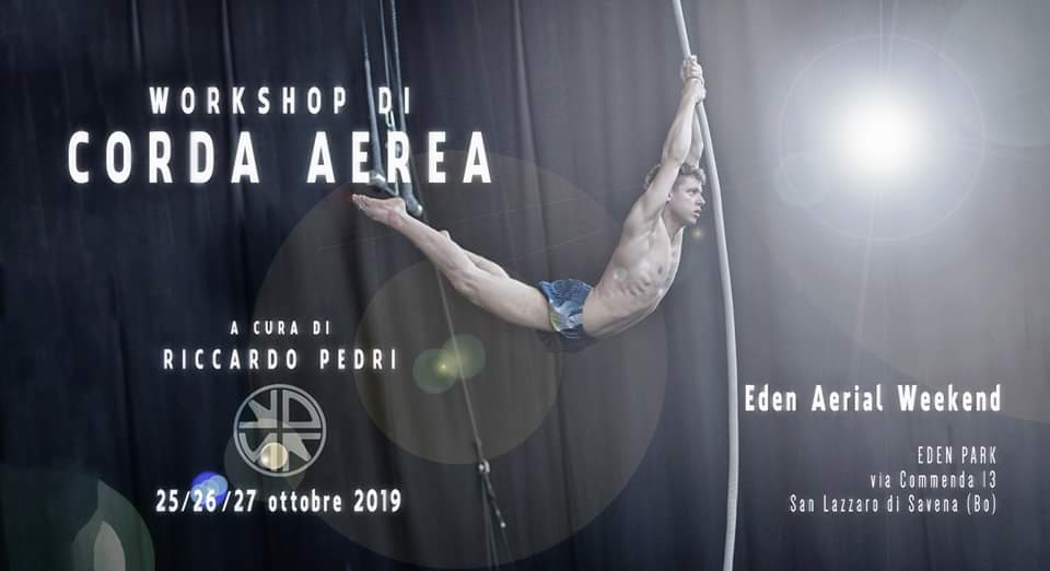 workshop corda aerea eden