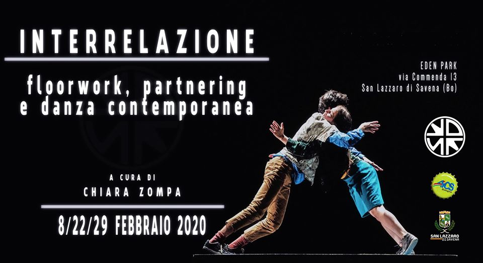 Interrelazione floor work partnering e danza contemporanea